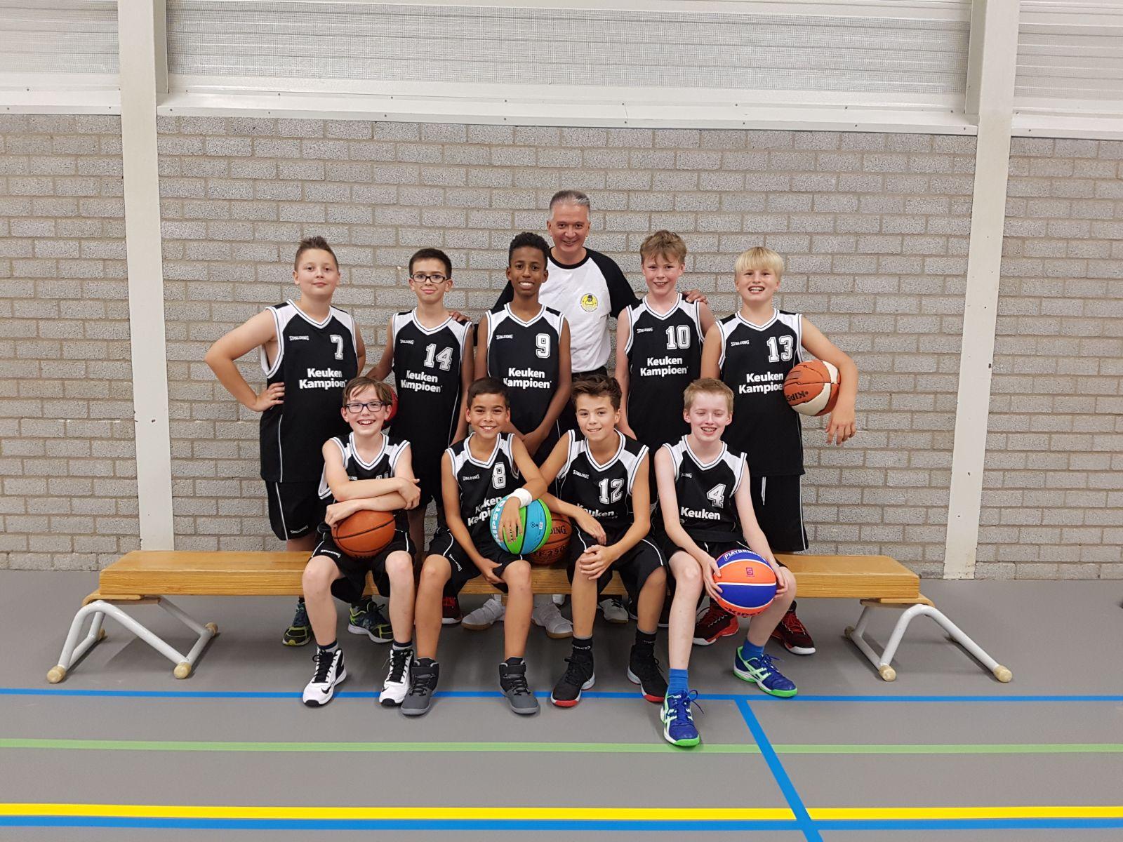 Team foto Jongens U14