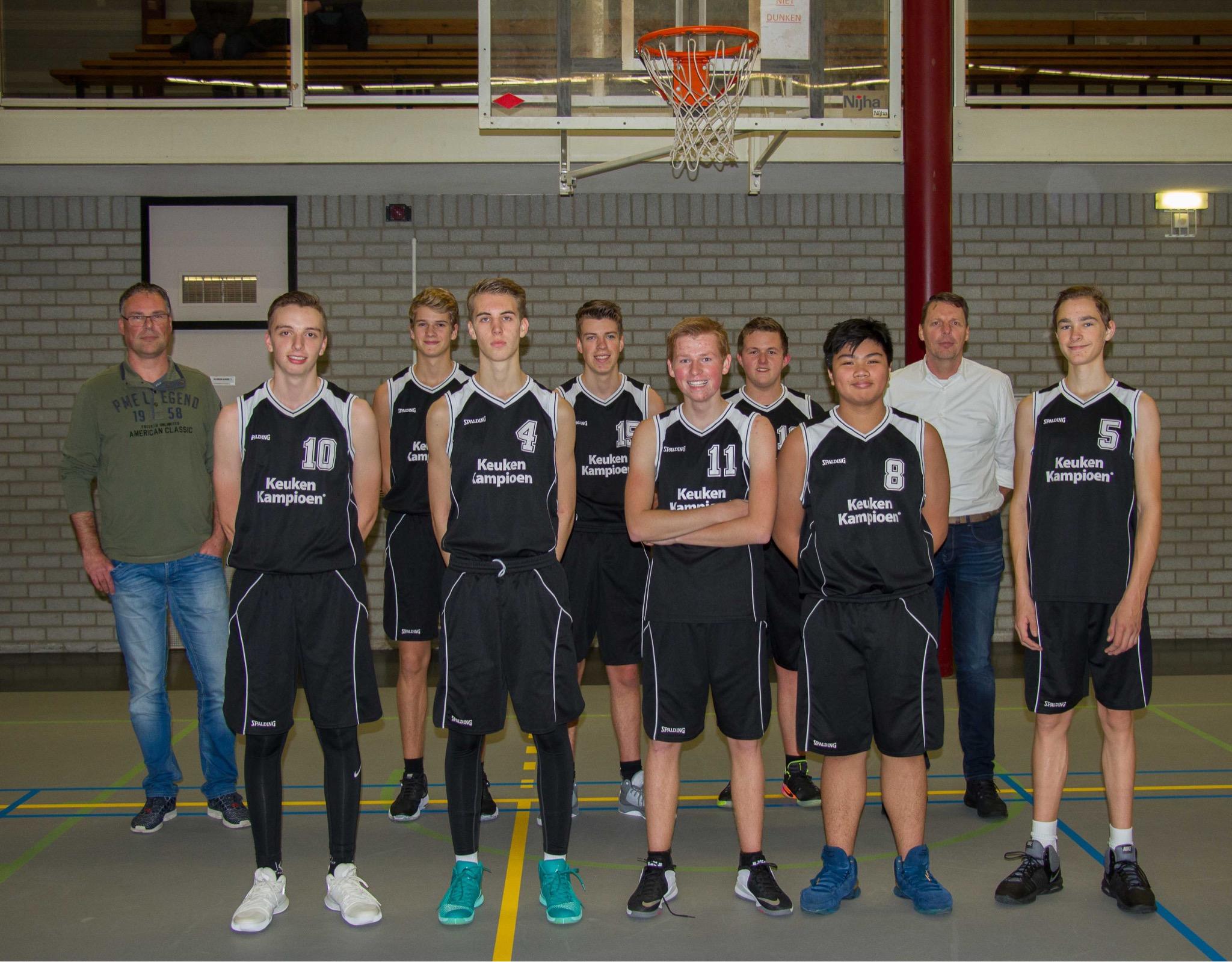 Team foto Jongens U18